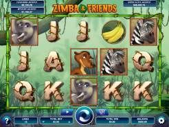 Zimba and Friends Slots